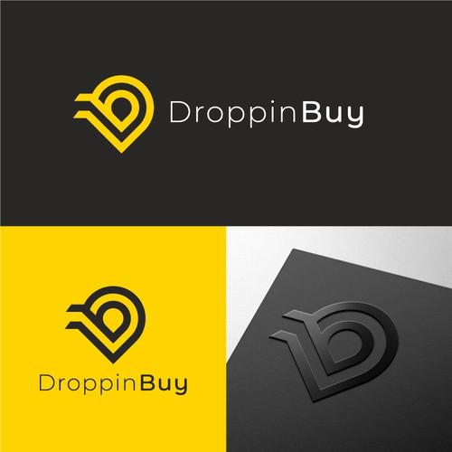 DroppinBuy Logo Design