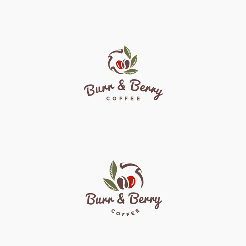 Hipster logo for a modern coffee shop
