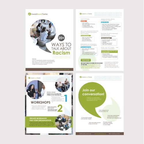 E brochure design