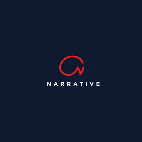 Narrative logo concept