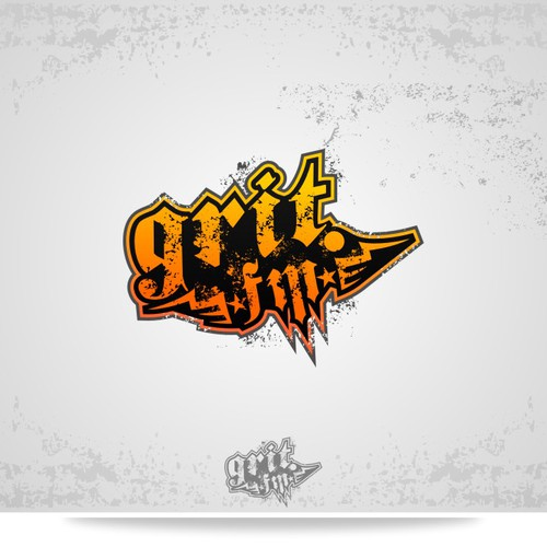 Create the next logo for grit.fm
