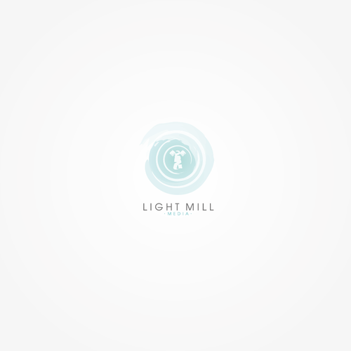 Create a Logo for Light Mill Media that's creative, clever and positive