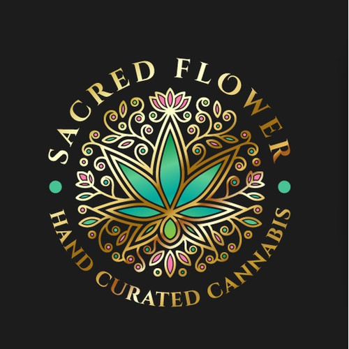 Discover elegant Logo design for Sacred Flower!