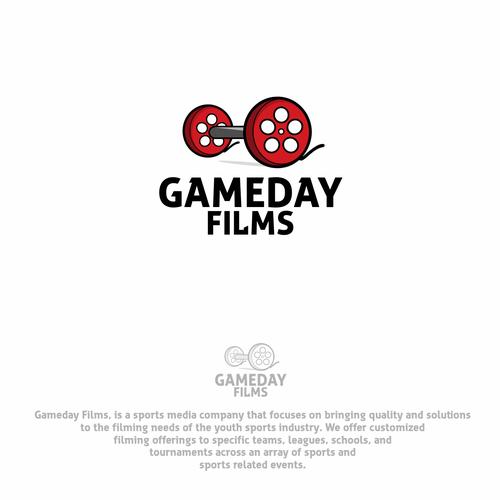 Logo for sport media company