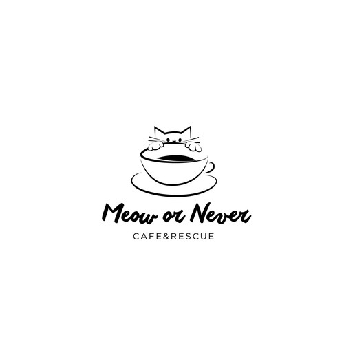 Las Vegas's First Cat Cafe Needs a Purrfect Logo
