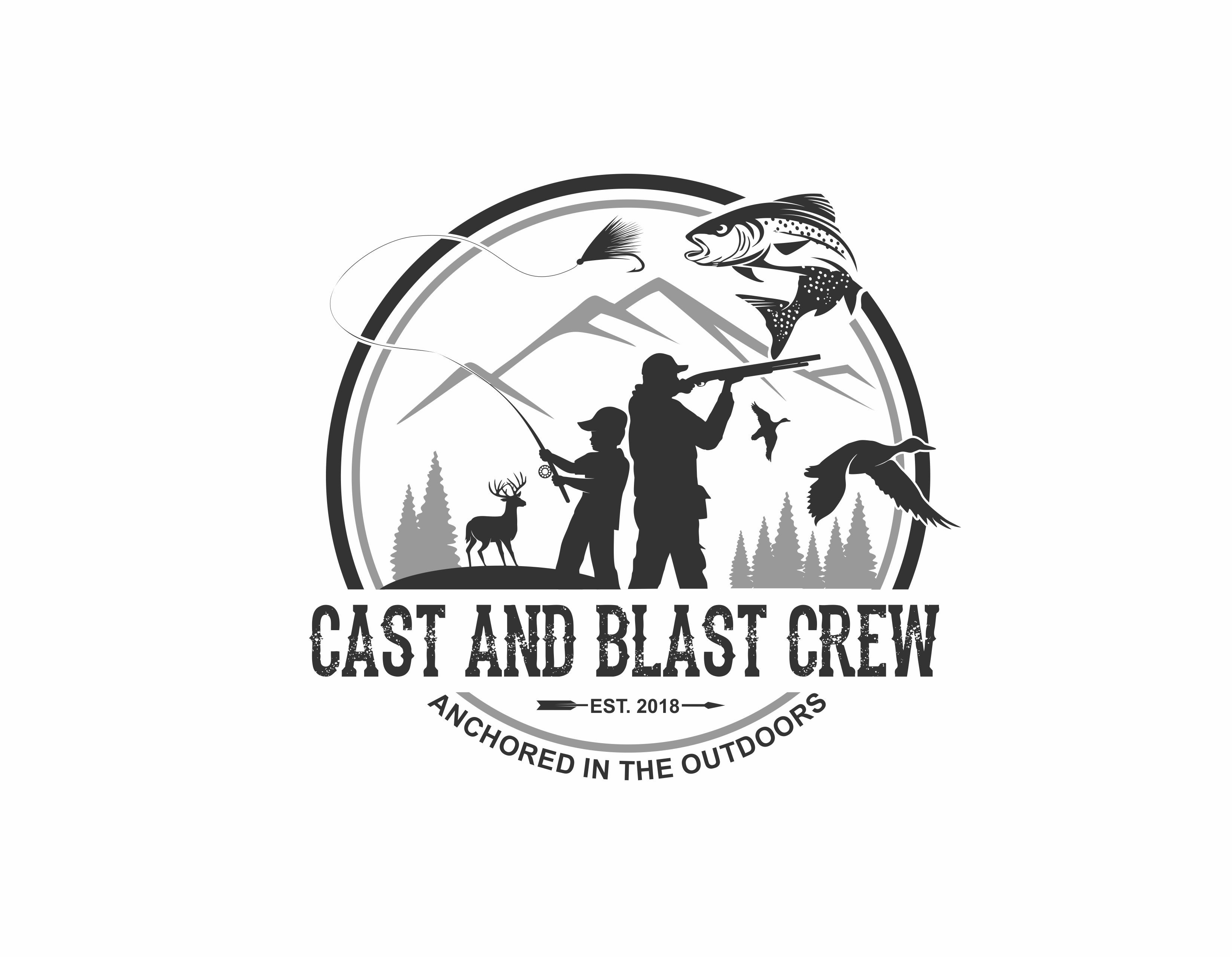 Outdoor hunting and fishing guiding business in need of a logo