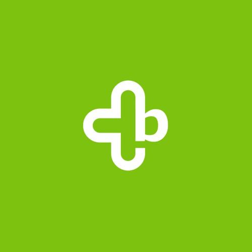 letter b medical logo