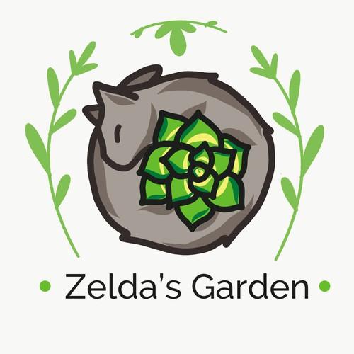 Logo concept for succulent store