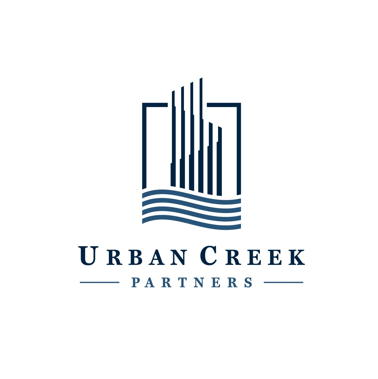 design a creative logo for a professional real estate company focused on the urban core markets
