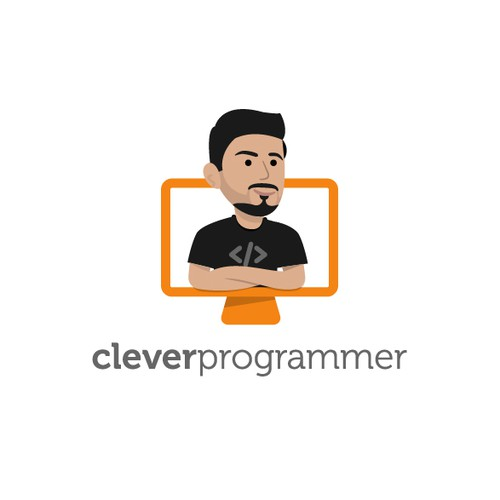 Design an engaging logo for Clever Programmer
