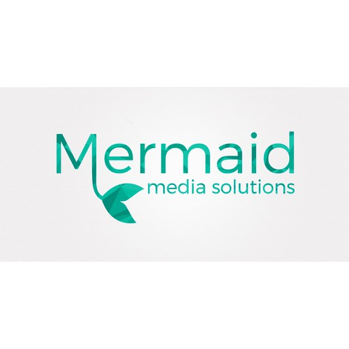 A simple logo for Mermaid Media Solutions