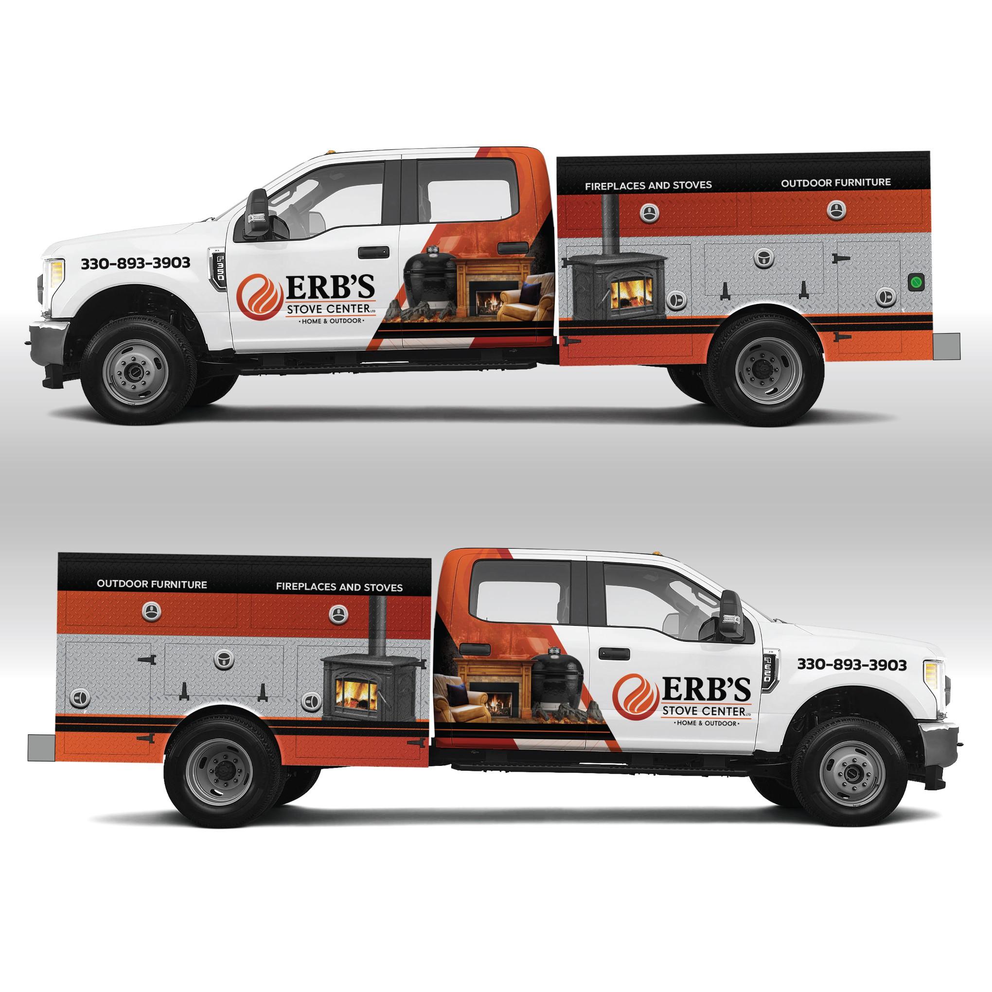 Erb's Truck Wrap