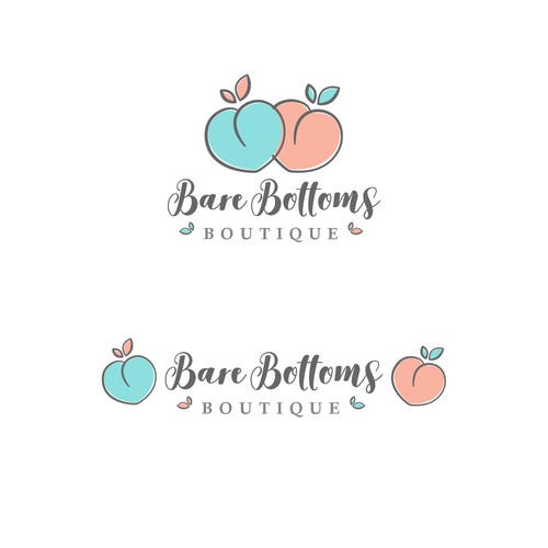 Logo design for organic cotton baby and toddler clothing