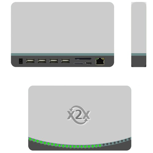 Product Design Electronic TV Network Box