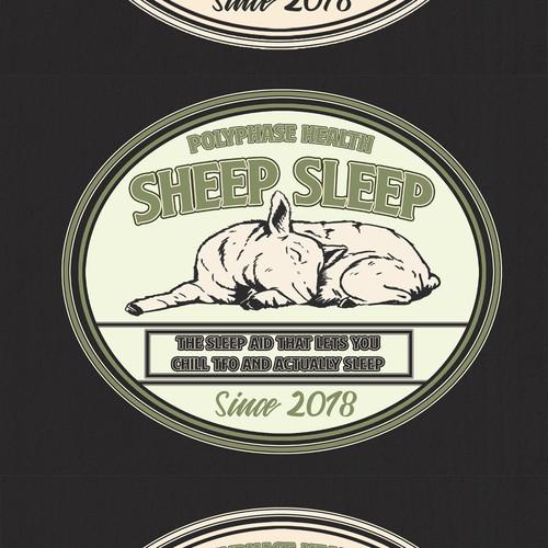 Sheep Sleep Logo