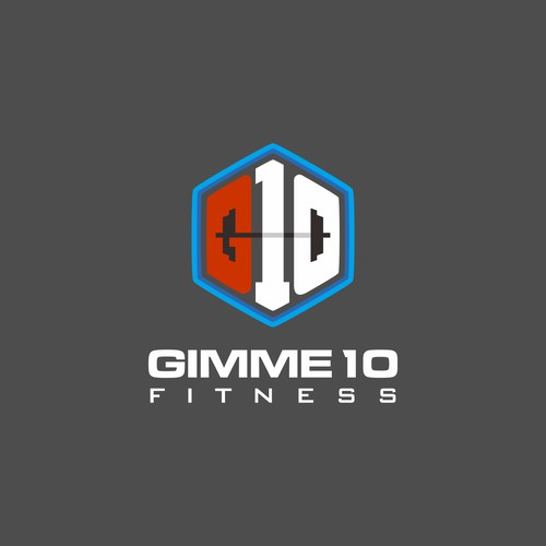 Brand logo for fitness company