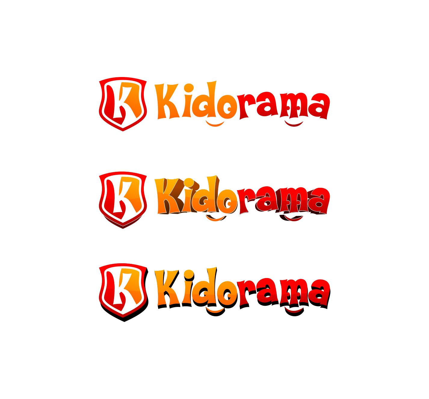 Create a winning logo design fo Kidorama - Kids city