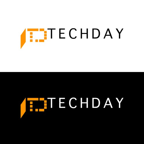 Logo for technology event.