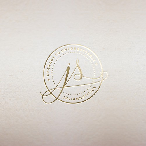 feminine personal brand logo
