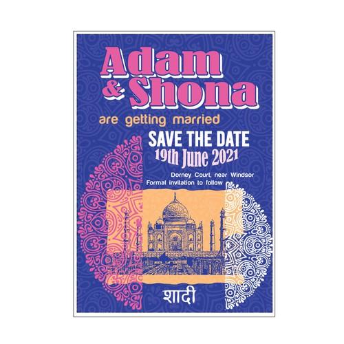 Adam & Shona Save the Date