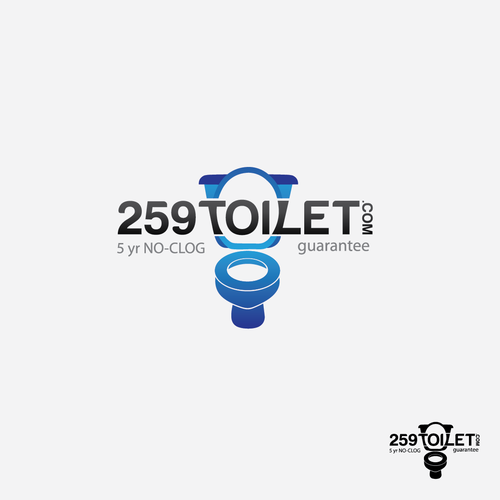 Create the next logo for 259toilet.com