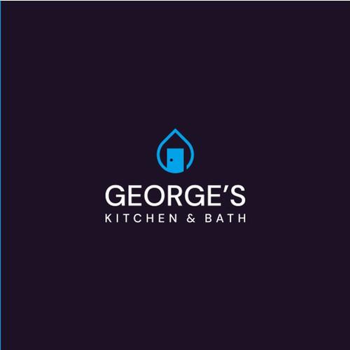 Representative logo for kitchen & bath showroom: George's Kitchen & Bath
