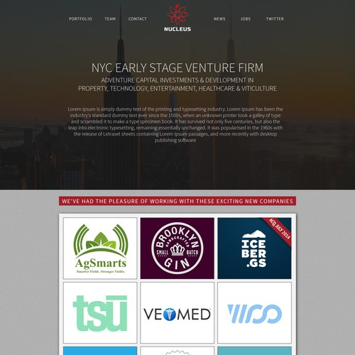 Nucleus Web Site Design
