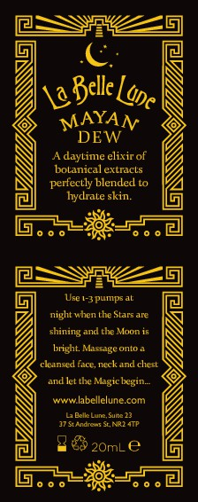 Indie skincare brand needs a quirky, elegant Mayan inspired border