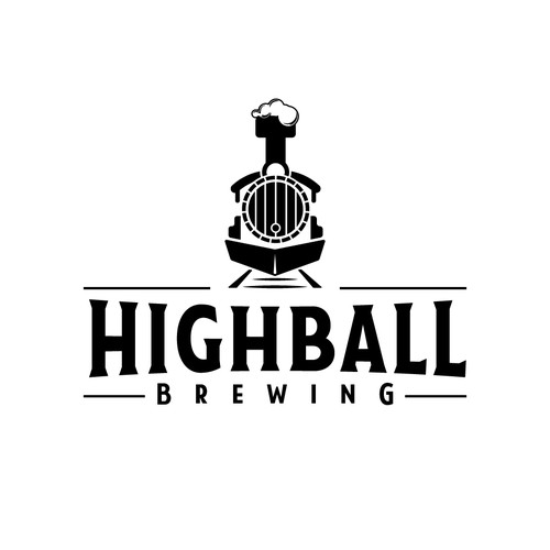 Classic but modern logo for a brewery