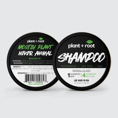 Plant + Root Packaging Design