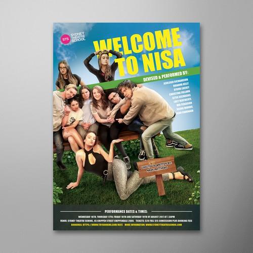 Poster Design for Sydney Theatre School