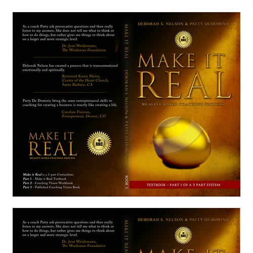 Book cover needed for Make it Real Series