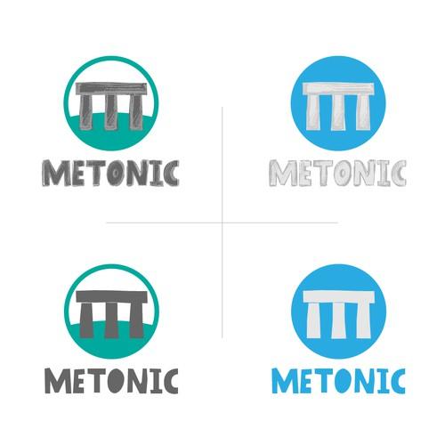 Logo for METONIC an app developer