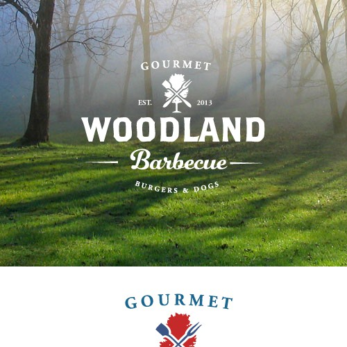 Woodland BBQ needs a new logo
