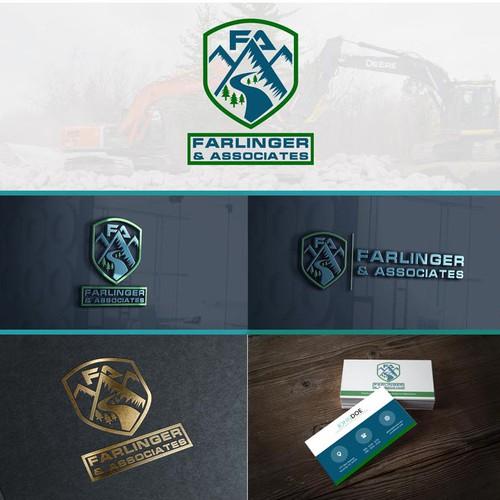 Construction Logo concept for Farlinger & Associates