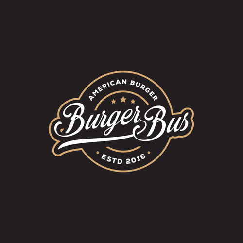 Logo for Burger Bus.