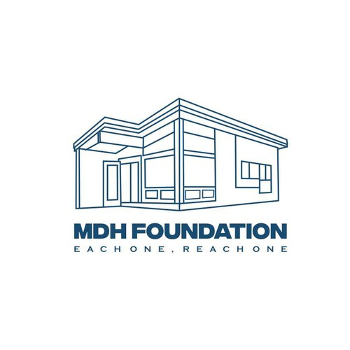 Sketchy architecture design style for MDH FOUNDATION