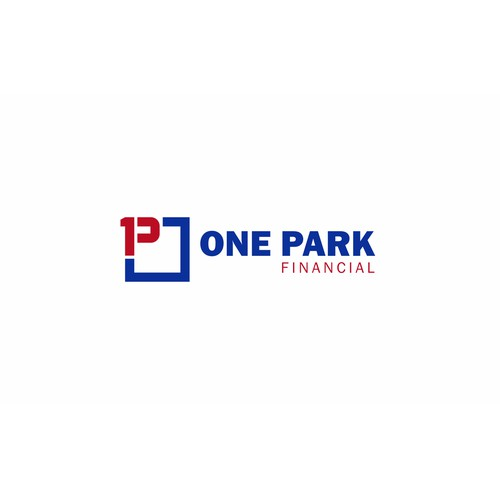 Modern B2B Financial Services Logo for One Park Financial