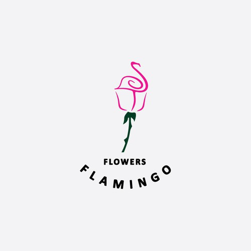 Help Flamingo Flowers with a new logo and business card