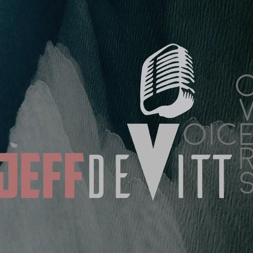 Business card concept for Jeff Devitt VoiceOvers
