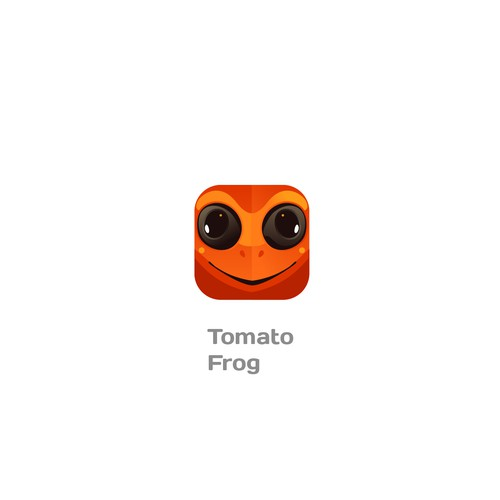 Design an app icon for TOMATO FROG events app