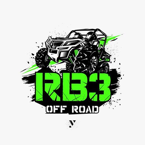 T-shirt design for RB3 Off Road.
