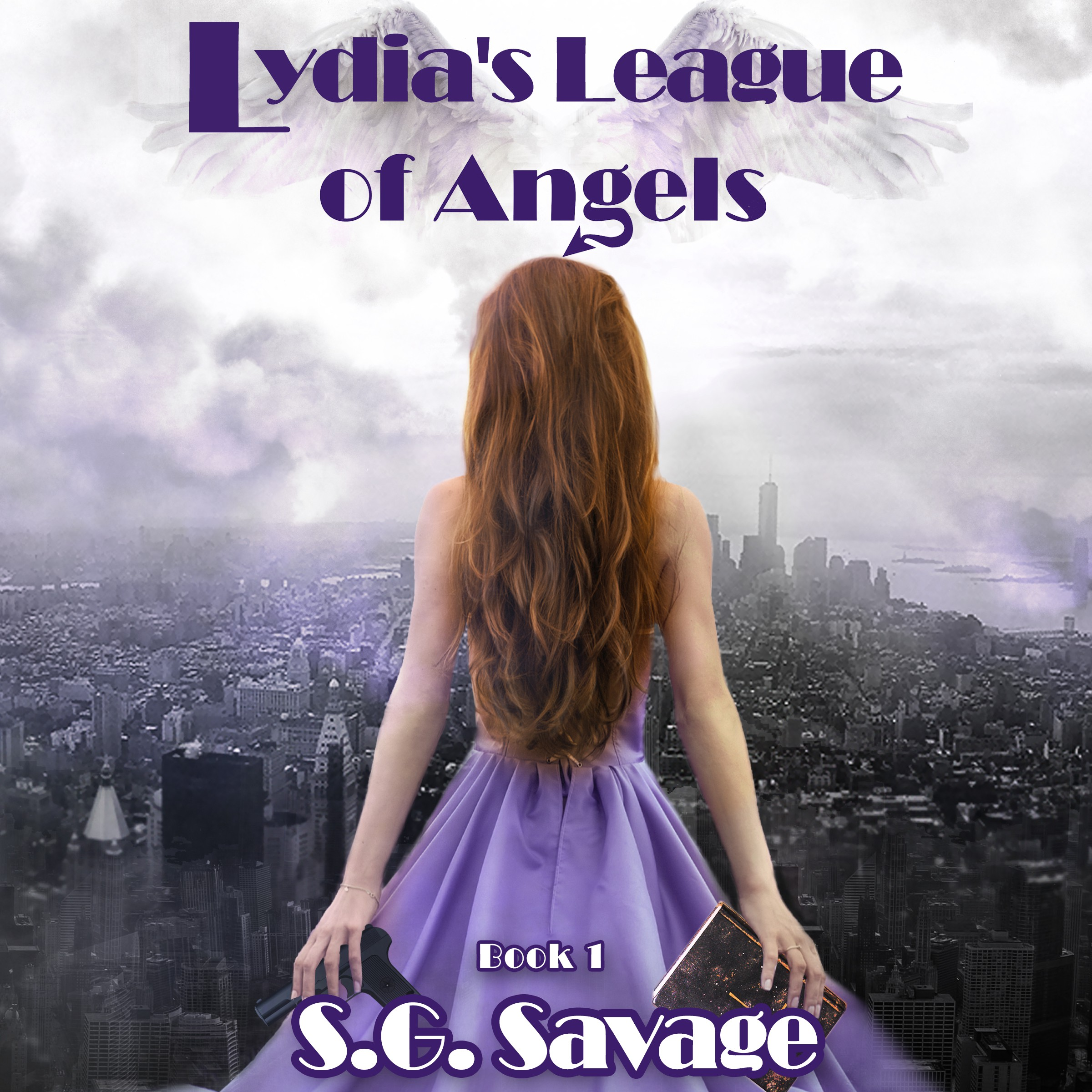 """""""Lydia's League of Angels"""" first in 5 novel series needs unique cover - heroines, angels, not typical angel book"""