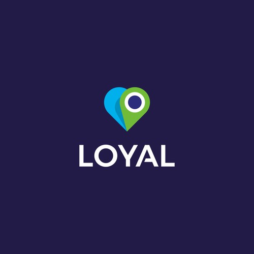 Lovely logo for pet tracking app: Loyal Pet