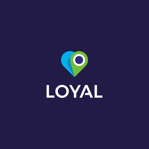 Lovely logo for pet tracking app: Loyal Pet