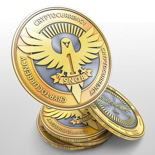 Cryptocurrency coin design