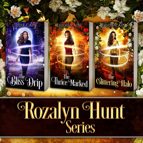 Book cover design - Rozalyn Hunt Series