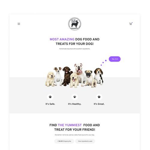 Dog Food and Treats Online Shop