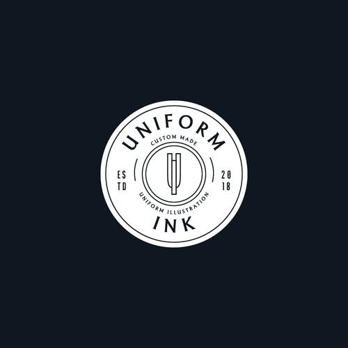 Logo Design Concept for Uniform Ink