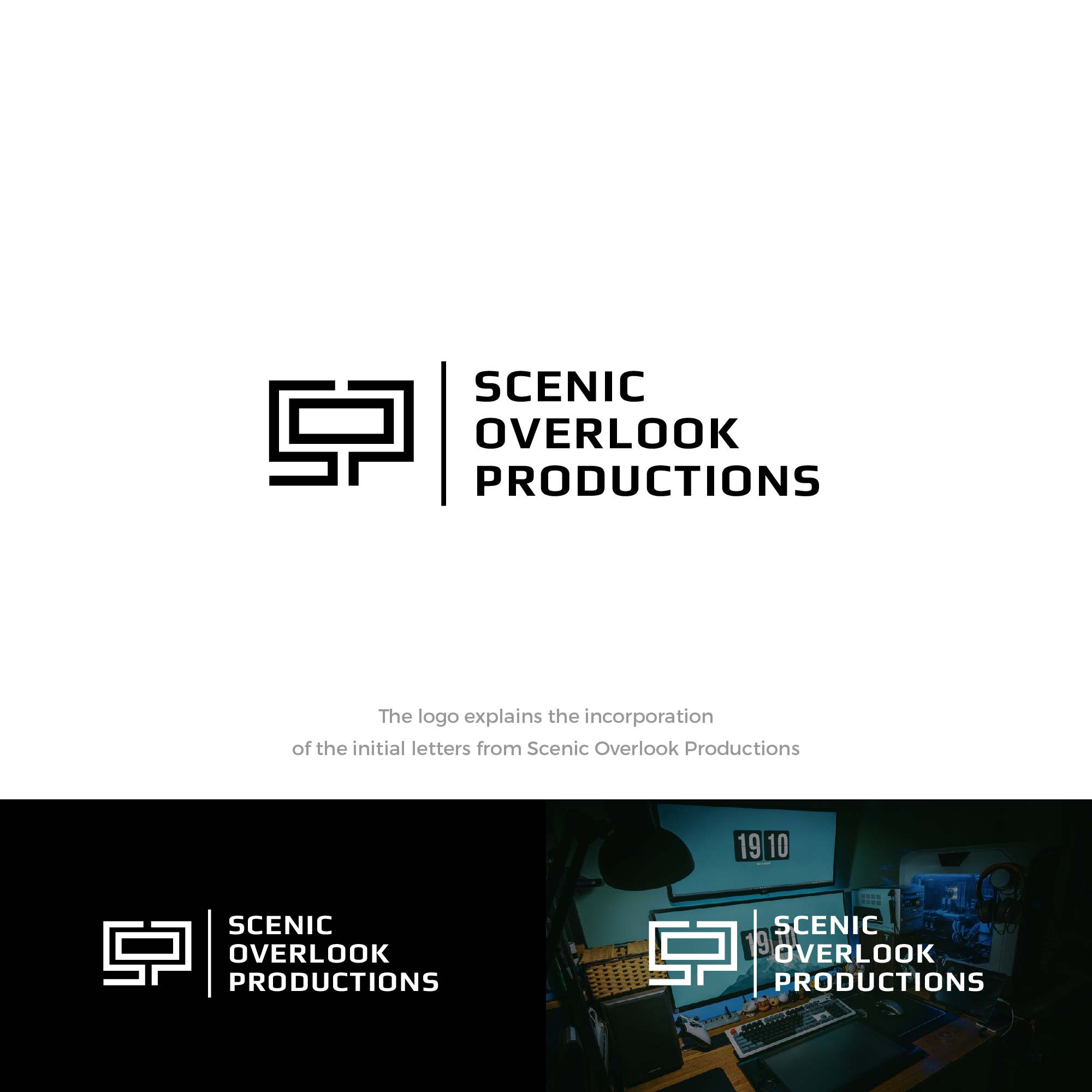 Create a logo for an exciting new TV production company!